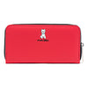 Marc Tetro Westie Zipper Wallet Red Large Front