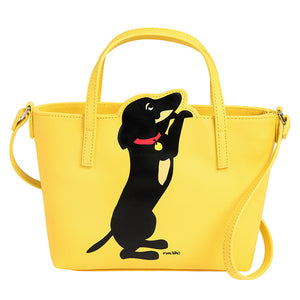 Marc Tetro Dachshund Crossbody Tote Front