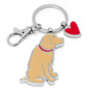 Marc Tetro Yellow Lab Keyring