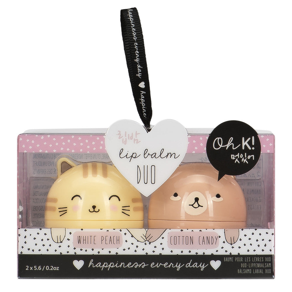Oh K! Lip Balm Duo  by NPW - 1