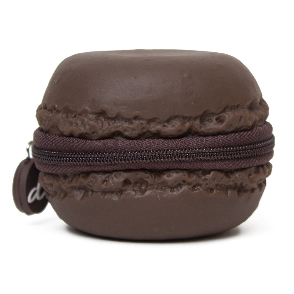 Chocolate Macaron Scented Coin Purse - PIQ