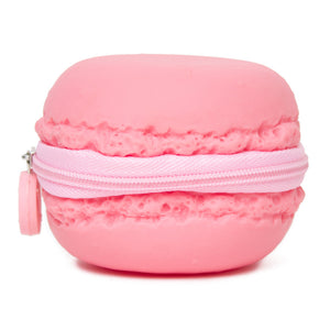 Strawberry Macaron Scented Coin Purse  by L!Q