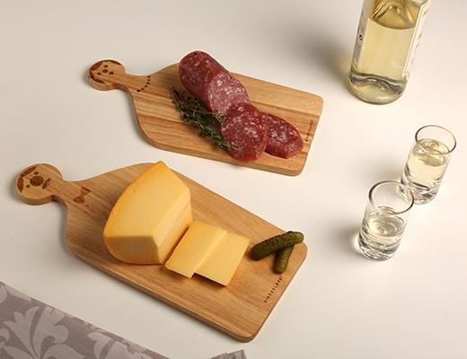 Mr. & Mrs. Serving Set Cutting Boards