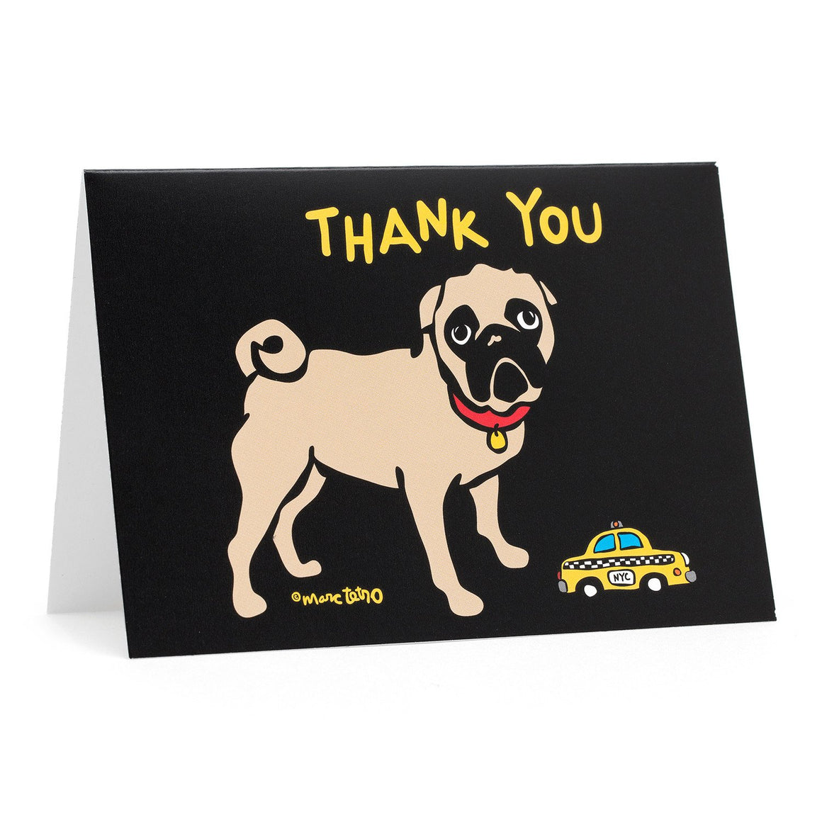 Marc Tetro Pug Thank You Cards
