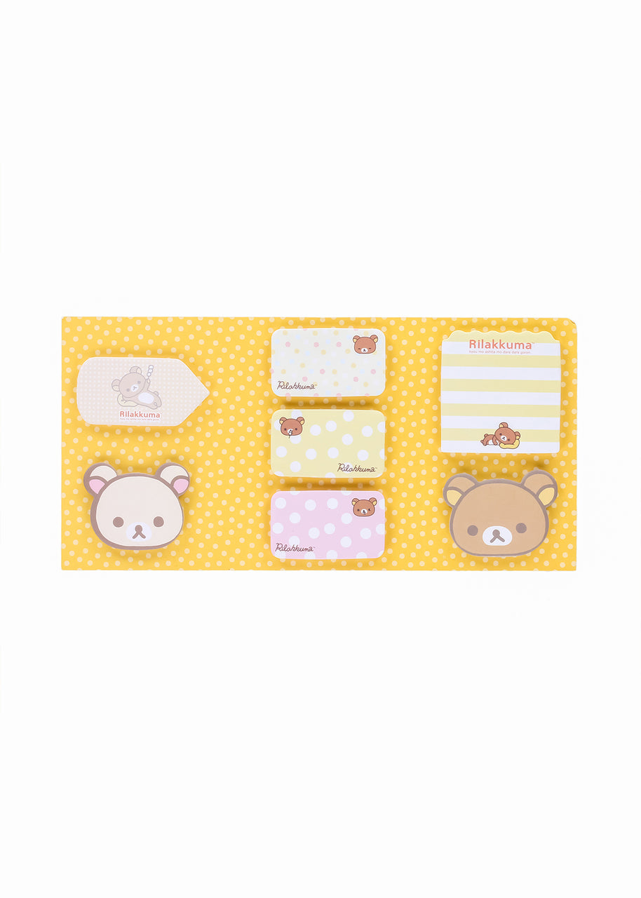 Rilakkuma Sticky Notes Booklet - PIQ