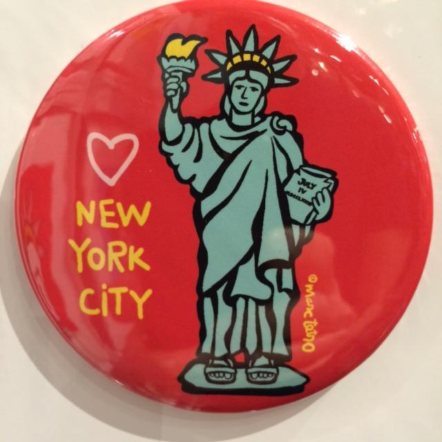 Marc Tetro Statue Of Liberty Magnet