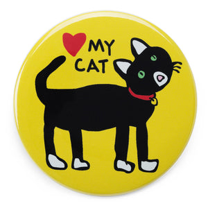 Marc Tetro Love My Cat Magnet  by Marc Tetro