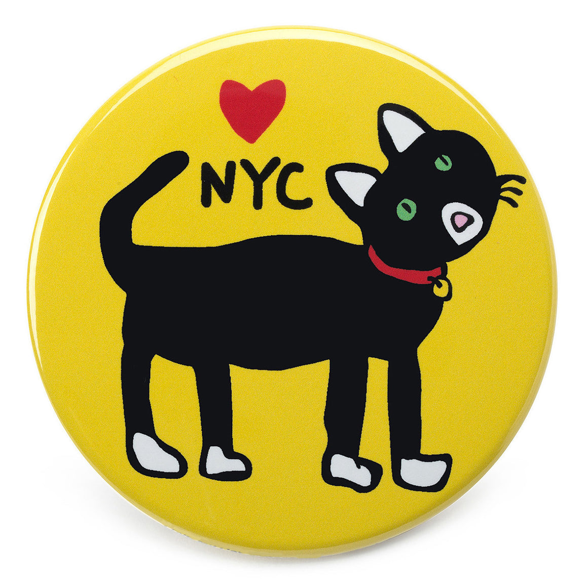 Marc Tetro NYC Cat Magnet  by Marc Tetro