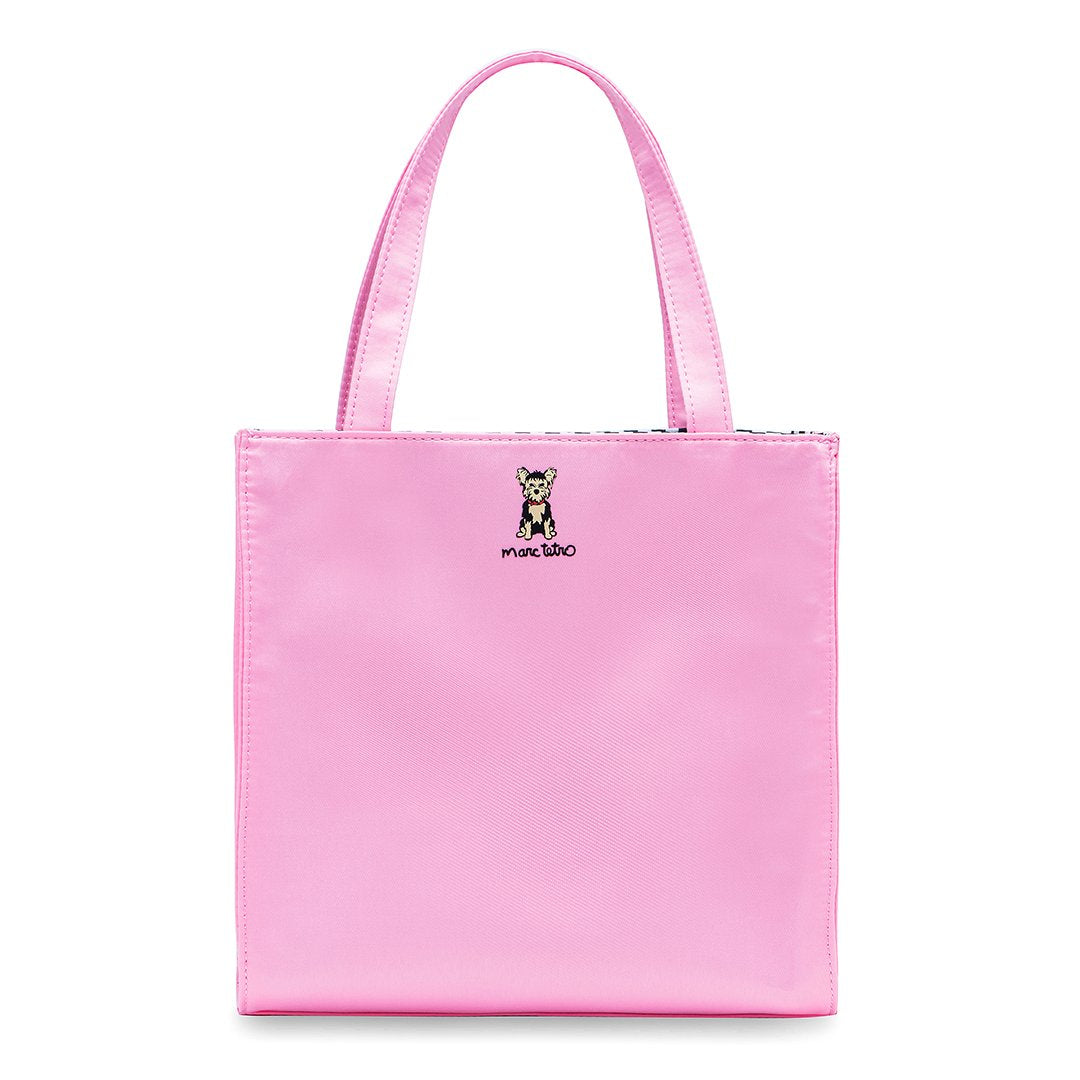Marc Tetro Yorkie Small Tote Pink