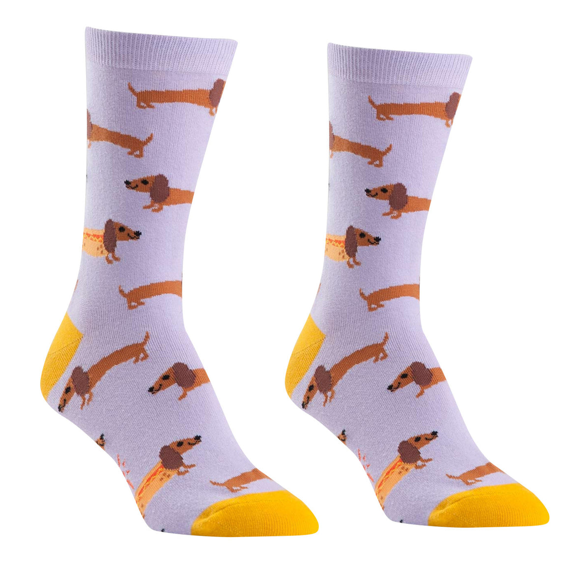 Hot Dogs Crew Socks by Sock It to Me