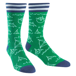 Mathlete Men's Crew Socks