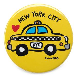 Marc Tetro NYC Taxi Magnet  by Marc Tetro