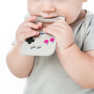 Nintendo Gameboy Silicone Teether by Bumkins