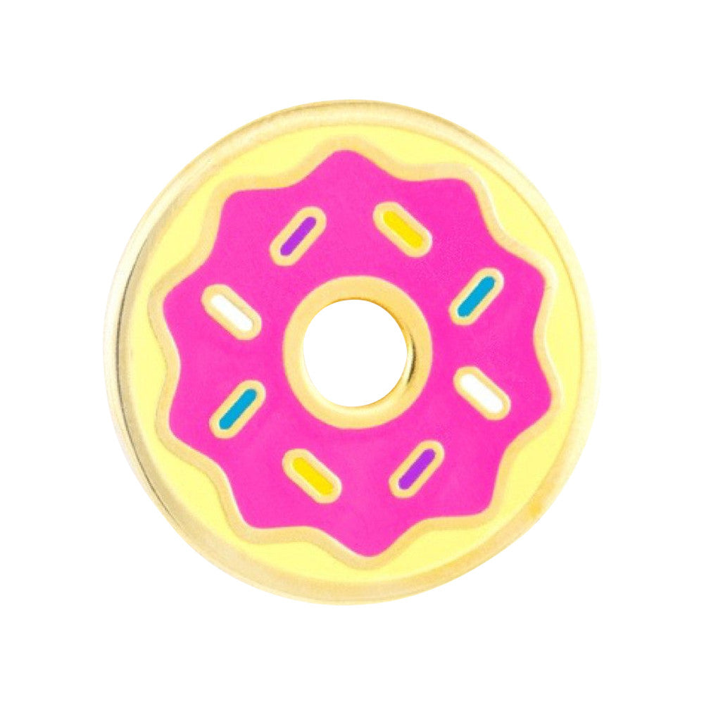These Are Things Donut Enamel Pin