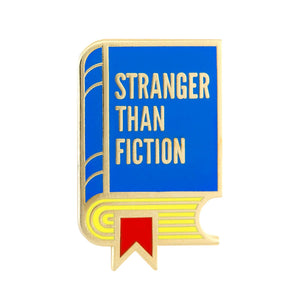 Stranger Than Fiction Enamel Pin