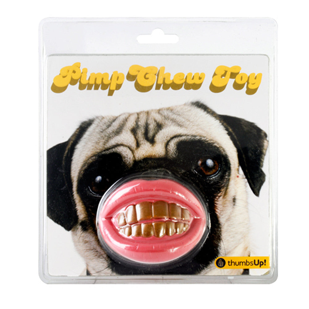 Pimp Dog Chew Toy  by Thumbs Up! - 1