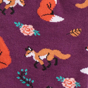 Fox Trot Women's Crew Socks
