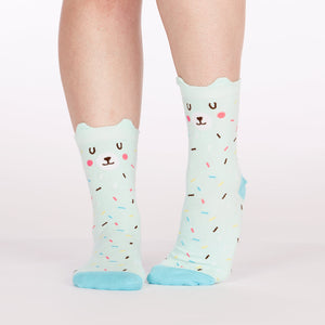 Bearly Sprinkled Women's Crew Socks