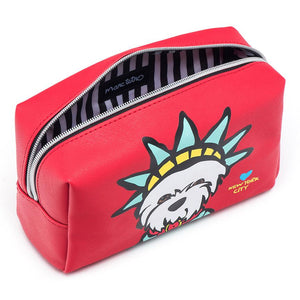 Marc Tetro Westie Liberty Cosmetic Case Large - PIQ