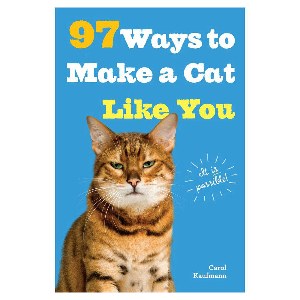 97 Ways To Make A Cat Like You Book PIQ