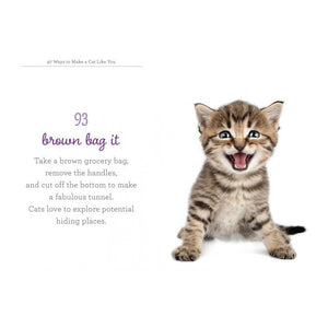 97 Ways To Make A Cat Like You Book  by Workman Publishing - 1