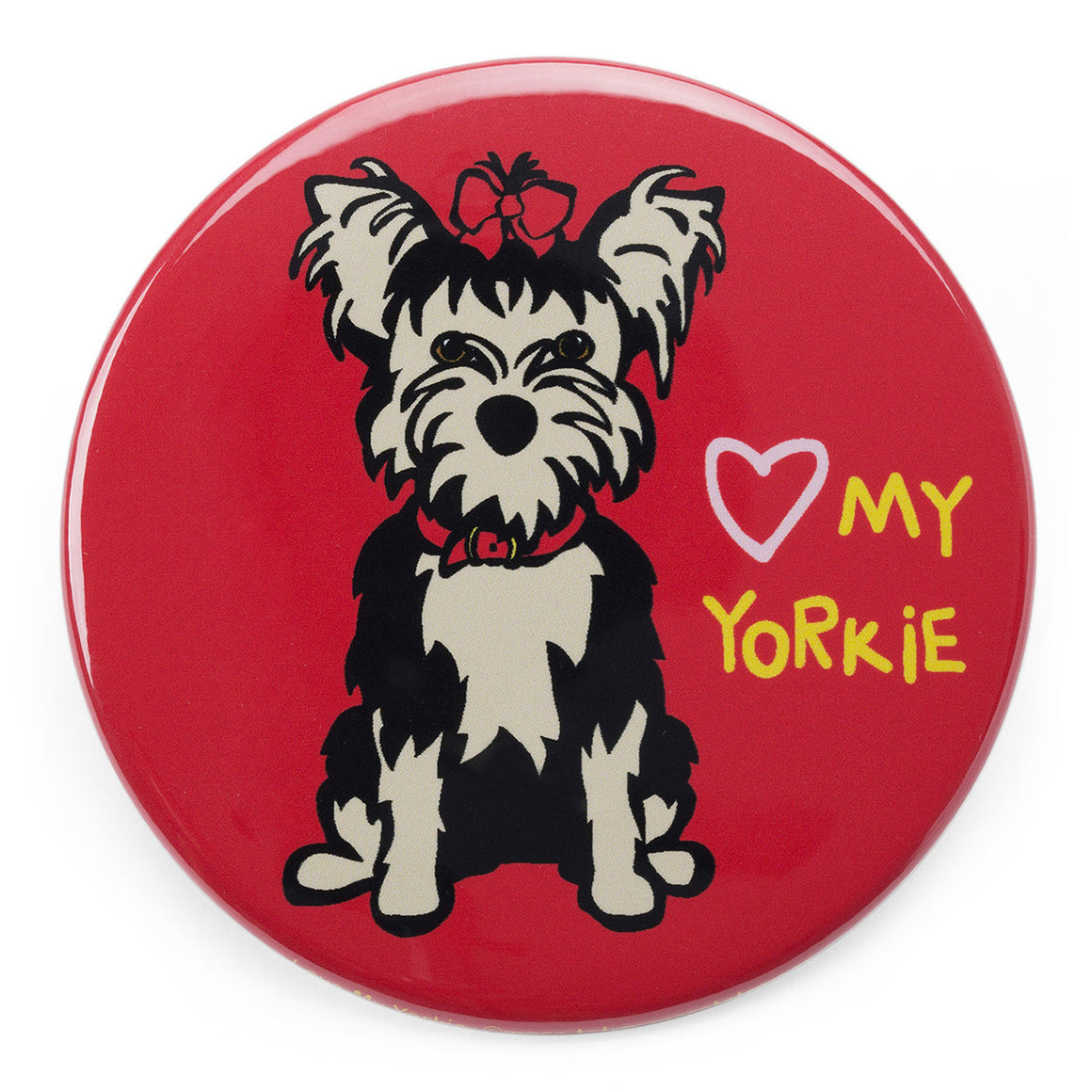 Marc Tetro Love My Yorkie Magnet  by Marc Tetro