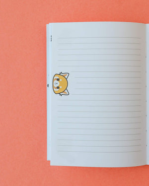 Aggretsuko Reversible Journal Calm Front