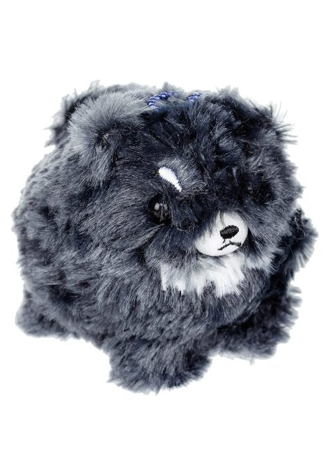 Black Pomeranian Plush Keychain by Amuse