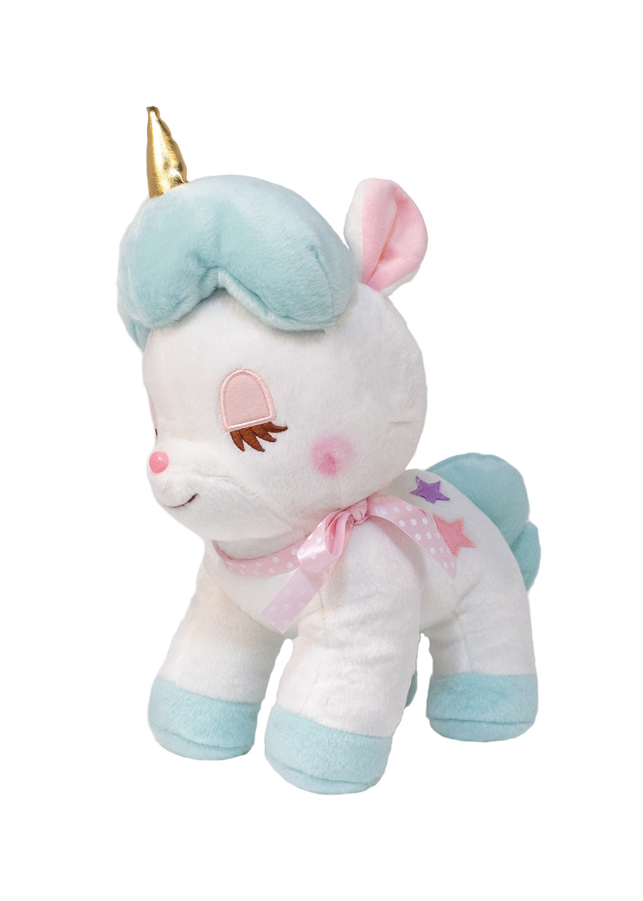 Aqua Unicorn Medium Plush by Amuse - PIQ