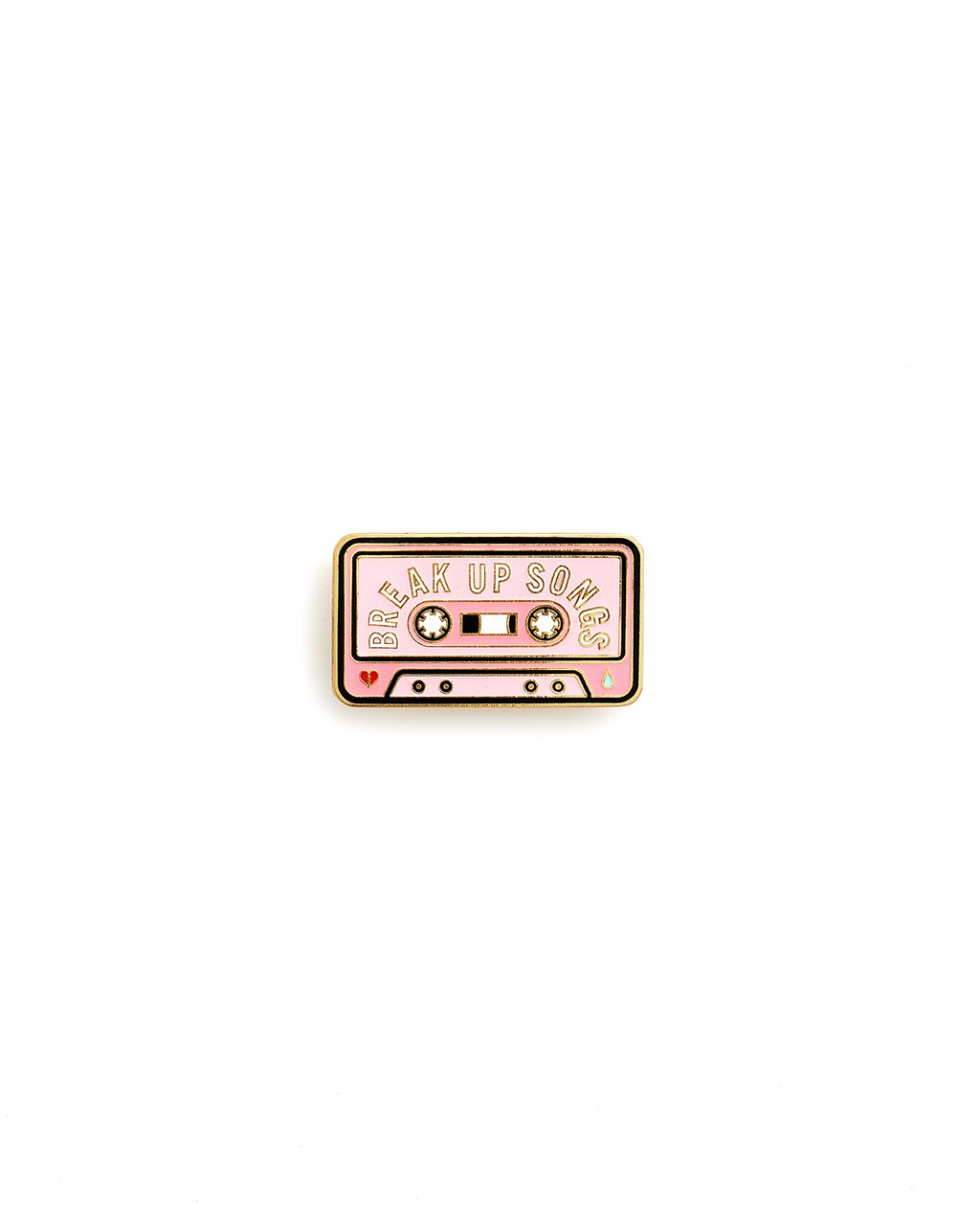 Break Up Songs Enamel Pin