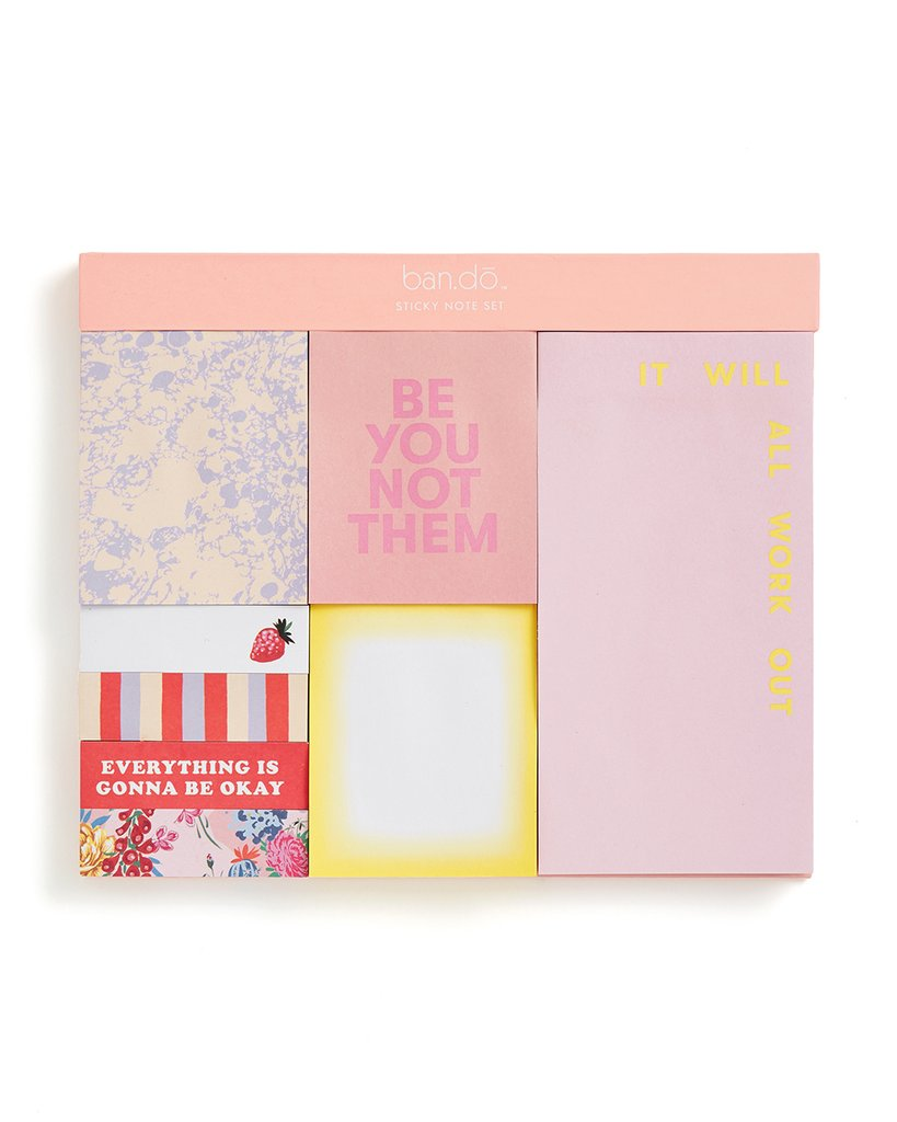 Sticky Note Set - Be You Not Them by Ban.do