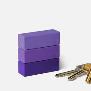 Blocks 9 Piece Set - Purple-ish Beams by Speks