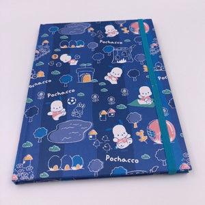Sanrio Pochacco Blue Notebook with Elastic Band