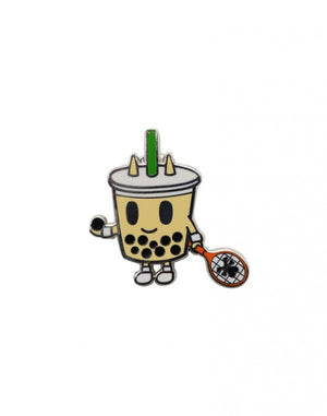 Tokidoki Boba Bob Enamel Pin milk tea bubble