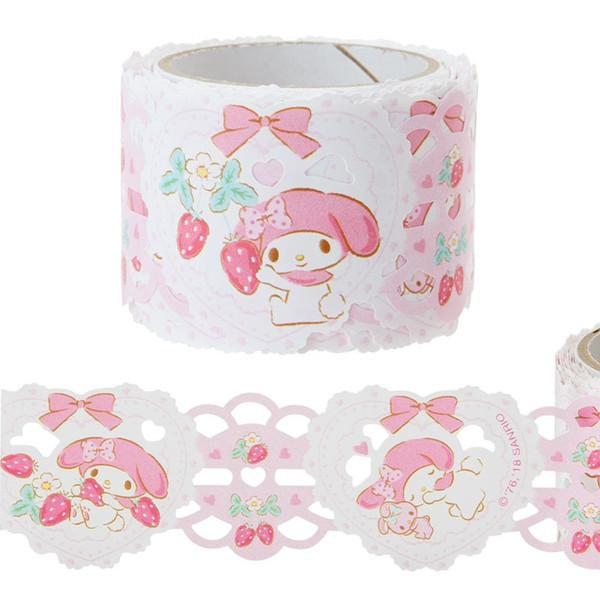 Sanrio My Melody Lace Style Sticker Tape Roll - PIQ
