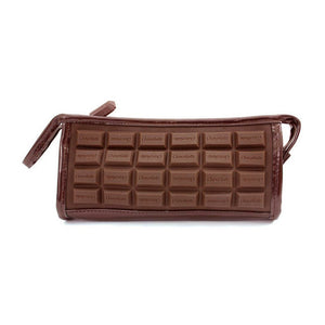 Chocolate Make Up Bag  by L!Q - 1