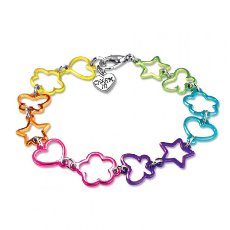 Charm It - Multi Shape Bracelet by High Intencity