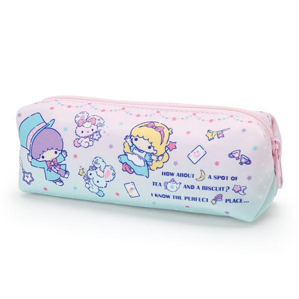 Sanrio Little Twin Stars Rabbit Pen Case Pencil Pouch Japan Kiki Lala