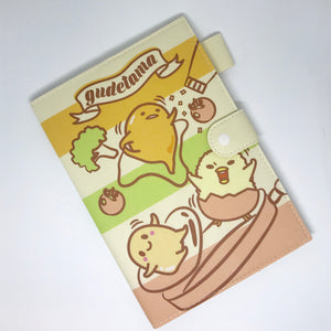 Gudetama and Friends Notebook Cover and Pad  by Sanrio