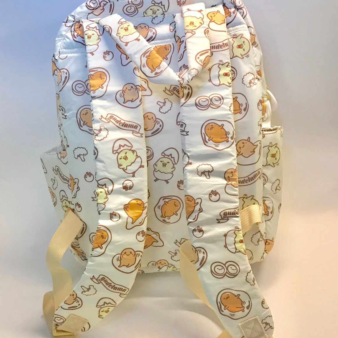 Gudetama and Friends Backpack  by Sanrio with carry handles