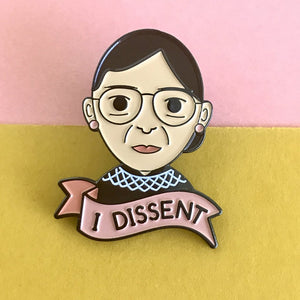 Bored Inc. I Dissent Enamel Pin - PIQ