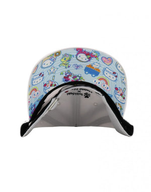 tokidoki x Hello Kitty Kaiju Kitty Bow Women's Adjustable Dad Hat