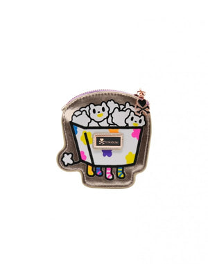 Camo Kawaii Kitty Pop Coin Purse Popcorn Tokidoki
