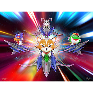 Barrett Biggers Starfox Limited Edition Print