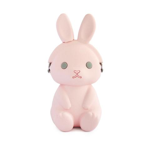 P+G Design Pink 3D Pochi Rabbit Silicon Coin Purse