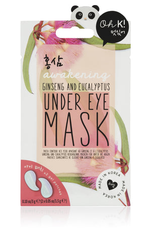 Oh K! Awakening Under Eye Mask - Red Ginseng & Eucalyptus
