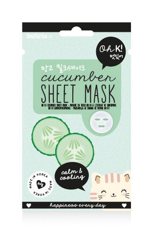 Oh K! Sheet Mask - Cucumber