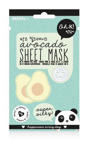 Oh K! Sheet Mask - Avocado