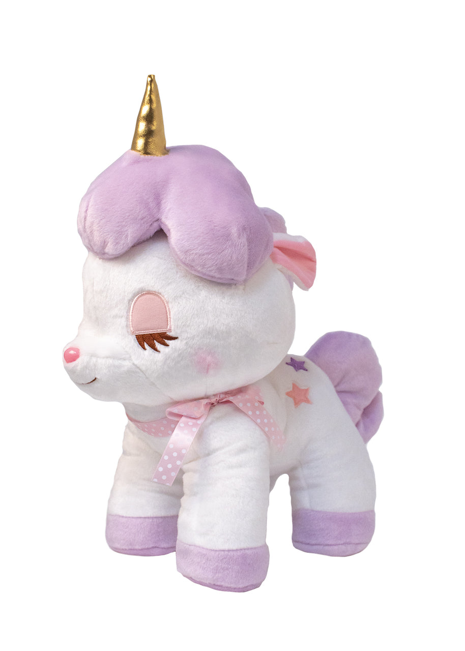 Purple Unicorn Large Plush by Amuse