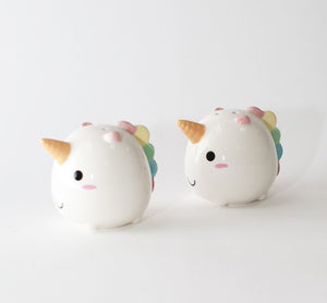 Elodie Unicorn Salt and Pepper Shakers
